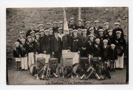 - CPA SOTTEVILLE (76) - La Fanfare LA SOTTEVILLAISE (belle Animation) - Cliché Studio Photo - - Sotteville Les Rouen
