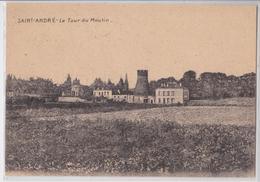 Saint-André-lez-Lille (59 Nord) - La Tour Du Moulin Feldpostkarte Feldartillerie Regiment N°78 6 Batterie Marque Postale - Frankrijk
