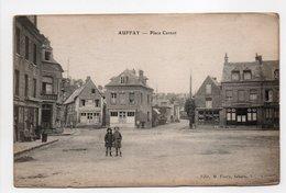 - CPA AUFFAY (76) - Place Carnot - Edition M. Farcy - - Auffay