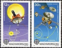 Hongrie Hongarije Ungarn CEPT 1991 Yvertn°  3315-3316 *** MNH Cote 11,00 Euro Europa - 1991