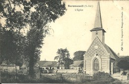 - 76 - BAROMESNIL - L'église - Francia