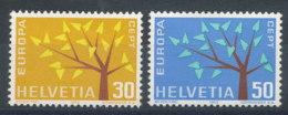 Suisse N°698 Et 699** Europa 1962 - Ungebraucht