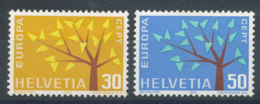 Suisse N°698 Et 699** Europa 1962 - Switzerland