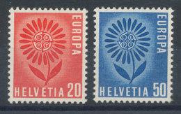 Suisse N°735 Et 736** Europa 1964 - Switzerland