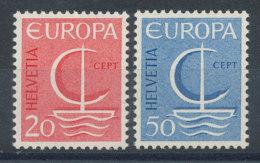Suisse N°776 Et 777** Europa 1966 - Switzerland