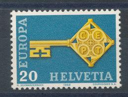 Suisse N°806** Europa 1968 - Switzerland
