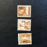 Schweiz 1915 Zumstein-Nr. 132/133/134 ** Postfrisch - Suisse