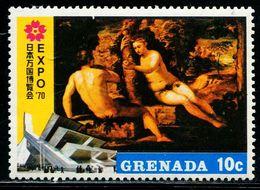 AW2801 Grenada 1970 Painting Adam Eve 1V MNH - Autres