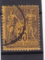 # Z.10891 France Republic 1877 - 80 Type II. Value 35 C. Used, Yvert 93, Michel 75: Pax & Mercur - 1876-1898 Sage (Tipo II)