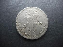 Belgian Congo 50 Centimes 1926 - Congo (Belga) & Ruanda-Urundi