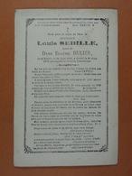Louis Sebille épx Dulier Binche 1808 1876 - Images Religieuses