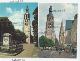 2 CPM - VENDOME (41) La Tour Saint- Martin Et Le Clocher - Vendome