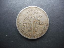 Belgian Congo 50 Centimes 1925 - Belgisch-Kongo & Ruanda-Urundi
