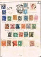 Equateur. Ancienne Collection. Old Collection. Altsammlung. Oude Verzameling - Postzegels