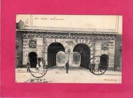 59 Nord, LILLE, Porte De Douai, Animée, 1910, (G. L.) - Lille