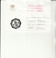 H 4 - Enveloppe Gendarmerie Prévôtale En Ex Yougoslavie  BPM N° 651 - Vignette - Marcofilie (Brieven)