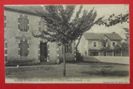 64 Mairie Et Recette Buraliste D'Aydie 1913 Avec 410 Habitants En 1900 Dos Scanné éditeur Damiens Cl Cairol Pau - France