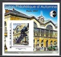 France - Bloc CNEP 2017 - N° 76 ** - Salon Philatélique D' Automne - Gare Montparnasse - - CNEP