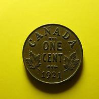 Canada 1 Cent 1921 - Canada