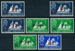 St.Pedro Y Miquelón Nº 315/22 (falta Nº 316) Nuevo - St.Pedro Y Miquelon