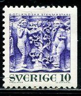 AW2832 Swedish 1970 Sculpture Adam And Eve 1V MNH - Autres