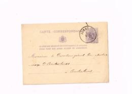 Entier Postal à 5 Centimes.Expédié De Jumet à Anderlues - Postwaardestukken