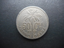 Belgian Congo 50 Centimes 1922 - Congo (Belgisch) & Ruanda-Urundi