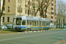Turin (Italie)  Tramway De Turin - 03/2012 -  Corso Umberto - Ligne N°15 - Rame N° 5012 (type T.P.R.) - Transports
