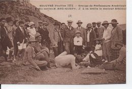 Solutré Fouilles 1924- Groupe De Professeurs Americains - Francia