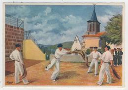 Homualk - Le Pays Basque  -  Basse-Navarre   -  Joueurs De Pelote à La Chistera - Homualk