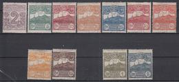 SAN MARINO - Michel - 1903 - Nr 34/45 (Zonder Nr 44) (MOOI) - MH* - Unused Stamps