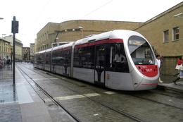Florence (Italie)  Tramway - 06/2012 - Terminus Santa Maria Novella Ligne T1 - Rame N° 1011 (type AnsaldoBreda Sirio) - Tramways