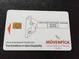 Hotelkarte Room Key Keycard Clef De Hotel Tarjeta Hotel  MÖVENPICK DJERBA With Casino - Telefonkarten