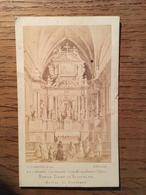 Photo A.Gueuvin Déposé, Format 6,4 X 10,5 Cms, Notre Dame De Verdelais (33, Gironde), Chromo ? - Foto