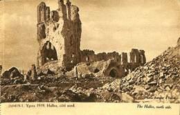 CPA - Belgique - Ieper - Ypres - 1919 - Halles - Ieper