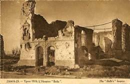 CPA - Belgique - Ieper - Ypres - 1919 - L'Hospice - Ieper