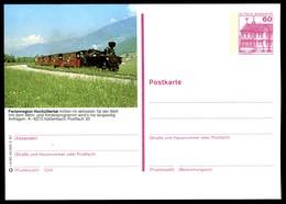 73248) BRD - P 138 - R4/50 - * Ungebraucht - A-6272 Kaltenbach, Dampfzug - Cartoline Illustrate - Nuovi