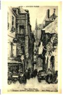 [75] Paris > La Rue Brise Miche    (Format 9 X 14) - Francia