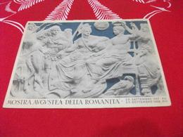 MOSTRA AUGUSTEA DELLA ROMANITA' 1938 LA GEMMA AVGVSTEA SERVIZIO DI CASSA AFFIDATO AL BANCO DI NAPOLI - Sculture