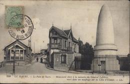 Gouvernement Belge En Exil YT 137 CAD Ste Adresse Poste Belge Bilingue 10 VII 16 Belgische Post CPA Le Havre Pain Sucre - Altri