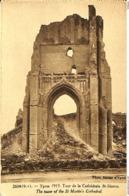 CPA - Belgique - Ieper - Ypres - 1919 - La Cathédrale - Ieper