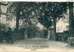 16 - Le Gond Près Angoulême : Hôtel De La Truite Saumonée - Le Jardin - France