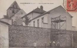 CPA ___ 95 Courdimanche ---- Vue De Profil Des écoles - Altri Comuni