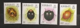 Kiribati 1993 N° 278 / 81 ** Insectes, Coléoptères, Chilicorus, Coccinelle, Cochenille, Pucerons, Rodolia, Cryptolaemus - Kiribati (1979-...)