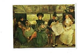 Cpm - THE BAYSWATER OMNIBUS - G.W. JOY - London Museum - Femme Enfant Bébé Nurse Homme Parapluie - Paintings