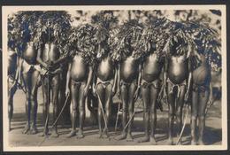 Carte Photo Du Congo - C. Zagourski : L'afrique Qui Disparaît N°127 A.E.F. Fête De Circoncision / Neuve. Très Bon état ! - Belgisch-Kongo - Sonstige