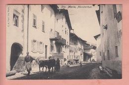 OUDE POSTKAART ZWITSERLAND - SCHWEIZ - SUISSE -    STA. MARIA - GEANIMEERD - GR Graubünden