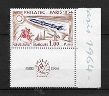 France :n° 1422 ** Philatec Paris 1964 - Frankreich
