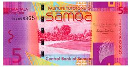 SAMOA 5 TALA ND(2014) Pick 38b Unc - Samoa