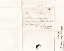 1796 Faltbrief Aus Fribourg Nach Lausanne - Suisse